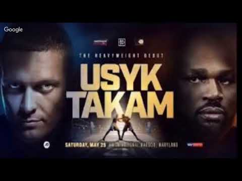 Bwtmonline | Boxing | Usyk vs Takam Pre Fight Thoughts | Wilder vs Klitschko