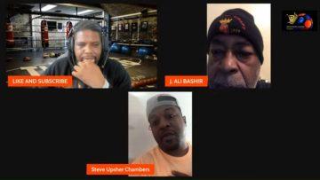 BASHIR & UPSHER ON GARCIA KO WIN | BASHIR SLAMS RACIST EGIS KLIMAS ONCE AGAIN!!