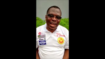 CHAIRMAN PETERS INTERVIEW ON CLUB CRICKET IN NIGERIA