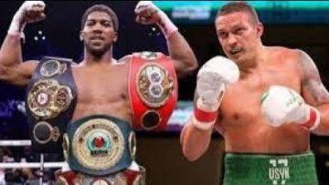 ANTHONY JOSHUA VS OLEKSANDR USYK Boxing Preview Show  (WHYTE & RUIZ JR ???)