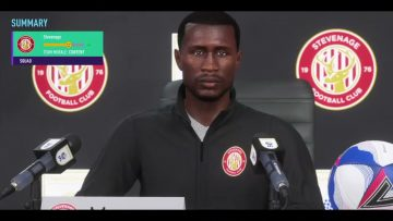 Stevenage FC Fifa21 African all stars experience championship league