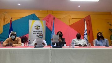UNHCR – Department of Youth Services signs agreement to support refugee, youth in Belize